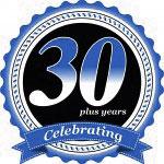 Celebrating 30 plus years