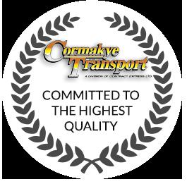 Cormakye Transportation Quality Commitment